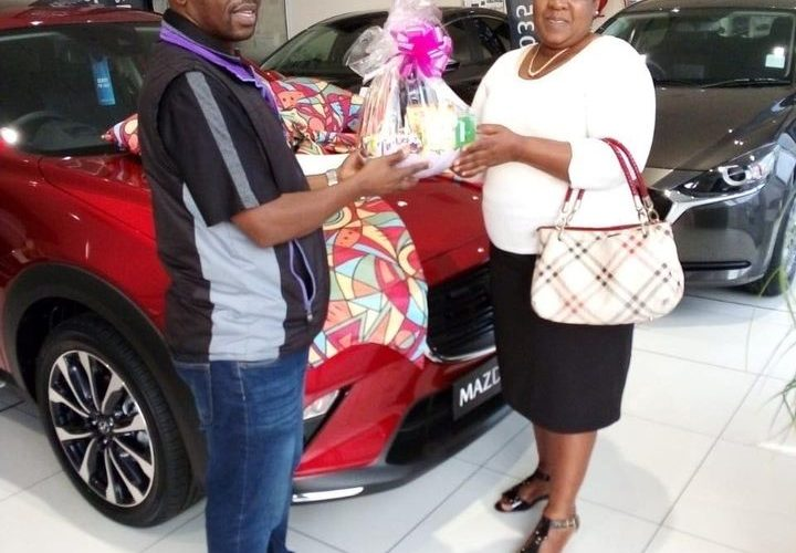 A very big congratulations to Mrs Nokuthula Mthembu on her new CX3 2.0 Individual plus 🔥